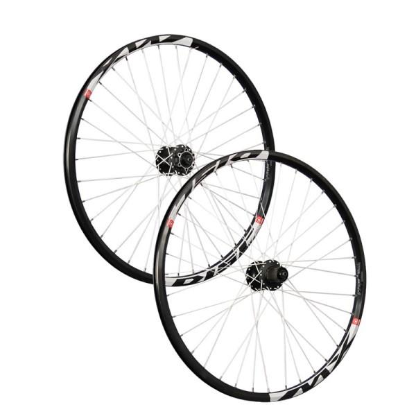 26 pouces ensemble roues vélos Mach1 MX disc Shimano 6 trous noir