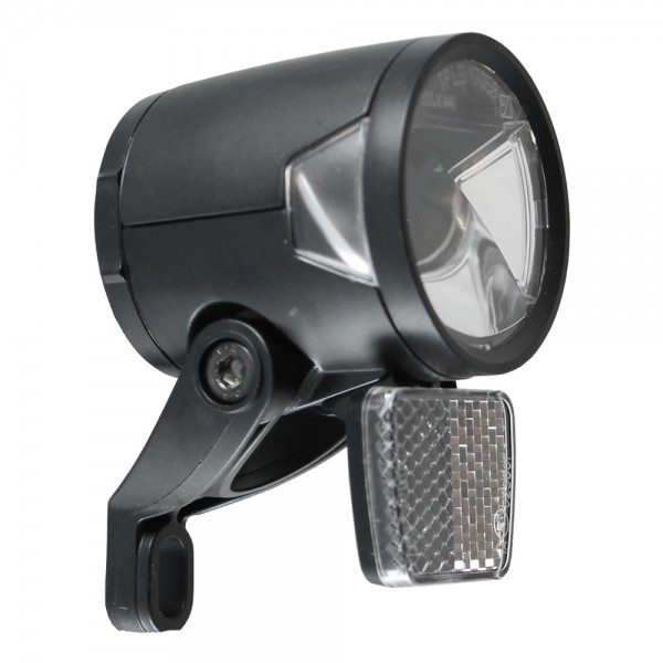 LED headlight H-Black MR8 for Ebike- according to StVZO 180 lumens