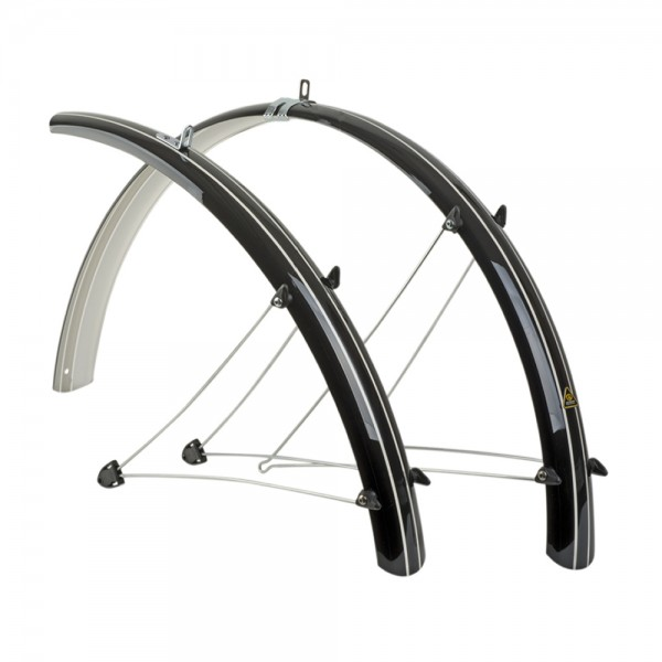 Mudguards Author 28 inch (700C) silver - width: 45mm