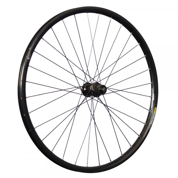 27.5 inch rear wheel Mavic XM424 double wall rim Shimano M4050 CL Disc black