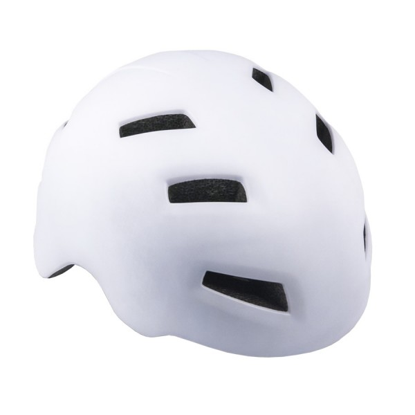bicycle helmet Dart Inmold Size L 58cm-61cm BMX Street Outdoor white